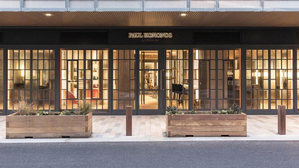 Paul Edmond Salon London window store front
